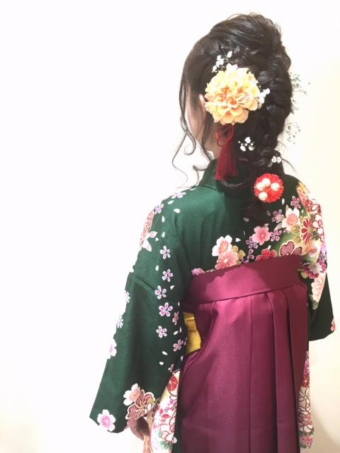 卒業式☆袴スタイル