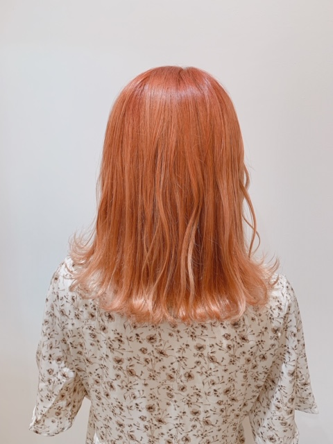 ☆オレンジビタミンカラー☆