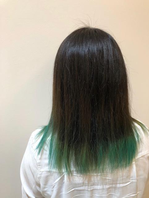☆グリーンカラー☆