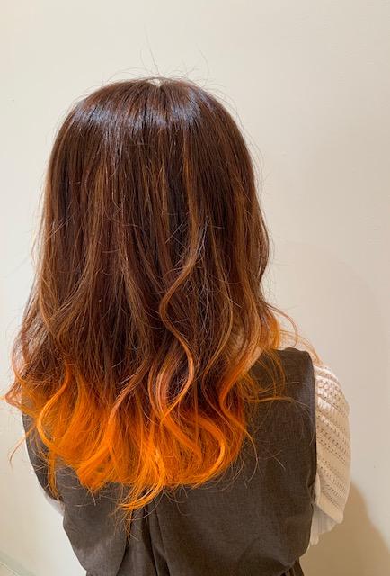 オレンジカラー☆