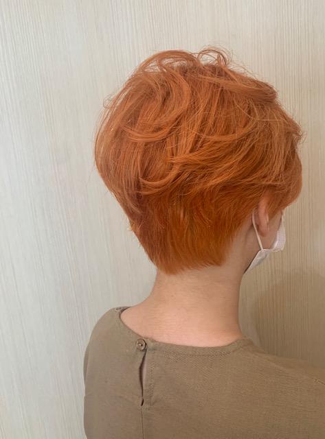 ☆クリアオレンジカラー☆
